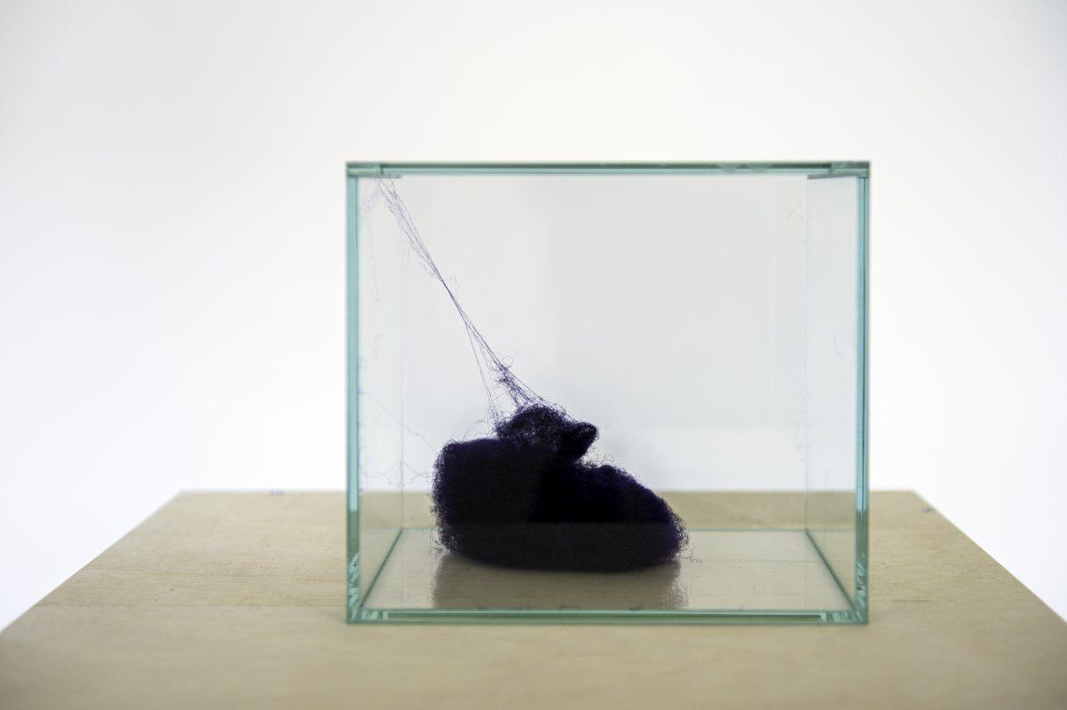Ayumi Paul | 678 Meter | 2020 | Acetate lacquer | Kunsthalle Osnabrück | Photo Angela von Brill